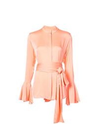 Blusa de botones rosada de Ellery
