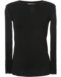 Blusa de lana negra de Michael Kors