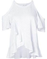 Blusa de lino blanca de A.L.C.