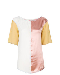 Blusa de manga corta en multicolor de Marni