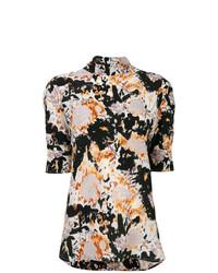 Blusa de manga corta estampada en multicolor de Marni