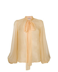 Blusa de manga larga amarilla de N°21