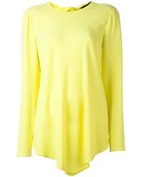 Blusa de manga larga amarilla de Proenza Schouler