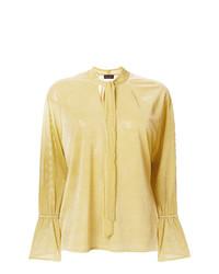 Blusa de manga larga amarilla de Roberto Collina