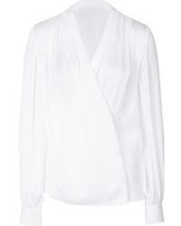Blusa de manga larga blanca original 10018827