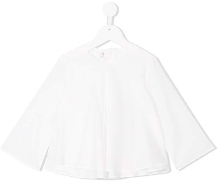 Blusa de manga larga blanca de Il Gufo