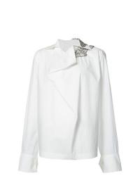 Blusa de manga larga blanca de Marni
