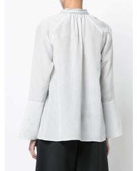 Blusa de manga larga blanca de Derek Lam