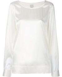 Blusa de manga larga blanca de Pinko