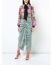Blusa de manga larga con print de flores en multicolor de Mary Katrantzou