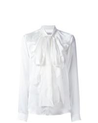 Blusa de manga larga con volante blanca de Faith Connexion