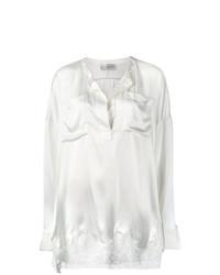 Blusa de manga larga de encaje blanca de Faith Connexion