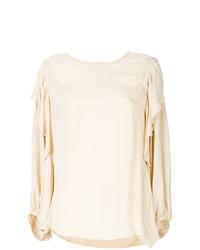 Blusa de manga larga en beige de See by Chloe
