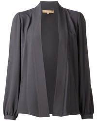 Blusa de manga larga en gris oscuro de Michael Kors