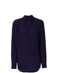 Blusa de manga larga en violeta de Chloé