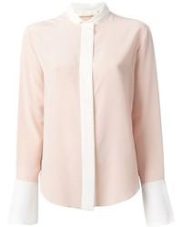 Blusa de manga larga rosada de Chloé