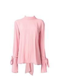 Blusa de manga larga rosada de Marni