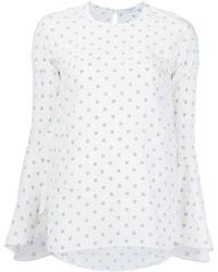 Blusa de seda blanca de Givenchy