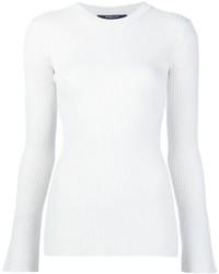 Blusa de Seda de Punto Blanca de Derek Lam