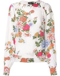 Blusa estampada blanca de Isabel Marant