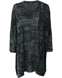 Blusa estampada negra de Diesel