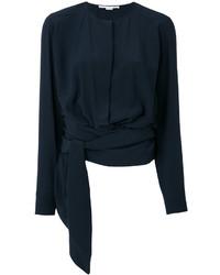 Blusa ligera azul marino de Stella McCartney