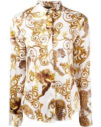 Blusa Marrón Claro de Philipp Plein