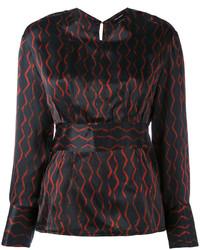 Blusa negra de Isabel Marant