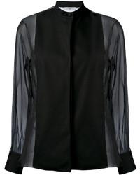 Blusa negra de Lanvin