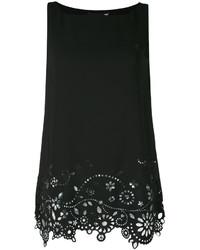 Blusa negra de Love Moschino