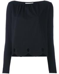 Blusa negra de See by Chloe