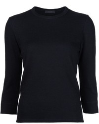 Blusa negra de The Row