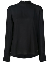Blusa negra de Versace