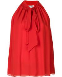 Blusa roja de Lanvin