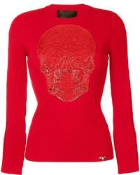 Blusa roja de Philipp Plein