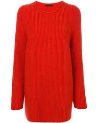 Blusa roja de The Row
