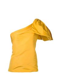 Blusa sin mangas amarilla de Bambah