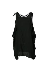 Blusa sin mangas negra de Ann Demeulemeester