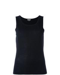 Blusa sin mangas negra de N.Peal
