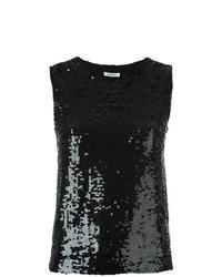 Blusa sin mangas negra de P.A.R.O.S.H.