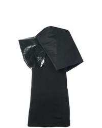 Blusa sin mangas negra de Rick Owens