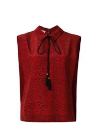 Blusa sin mangas roja de Philosophy di Lorenzo Serafini