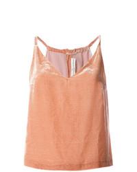 Blusa sin mangas rosada de Golden Goose Deluxe Brand