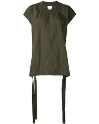 Blusa verde oliva de DKNY