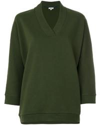 Blusa verde oliva de Kenzo