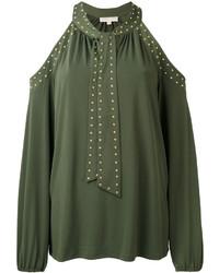 Blusa verde oliva de Michael Kors