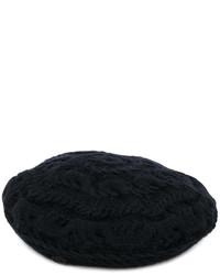 Boina negra de Maison Michel