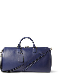 Bolsa de viaje de cuero azul