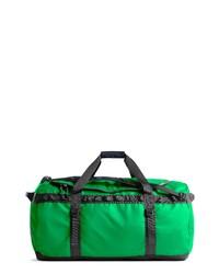 Bolsa de viaje de lona verde
