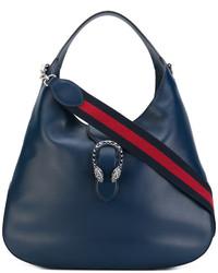 Bolsa Tote Azul Marino de Gucci